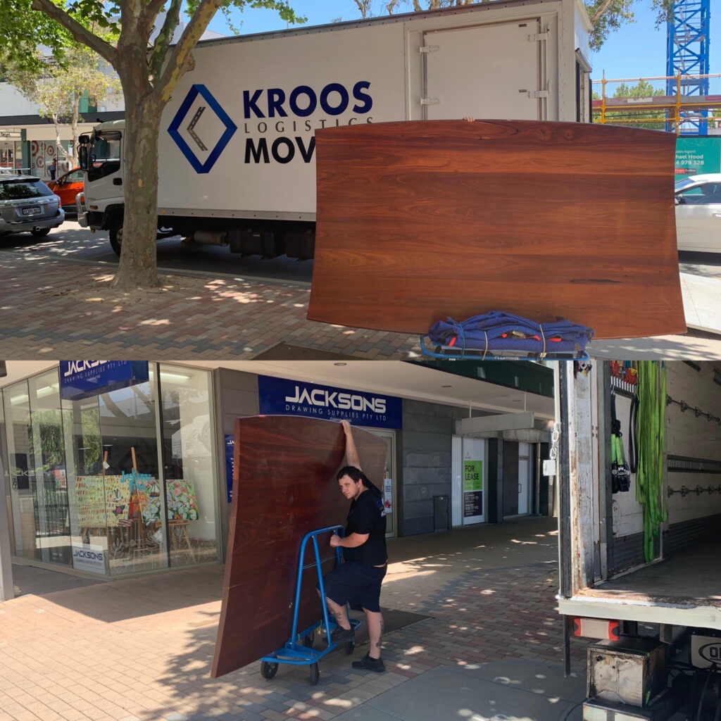 heavy table movers perth