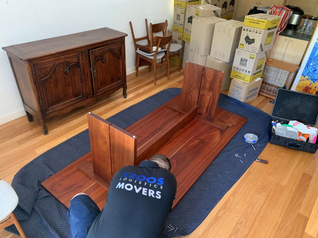 Heavy Wooden Table Removalists Perth