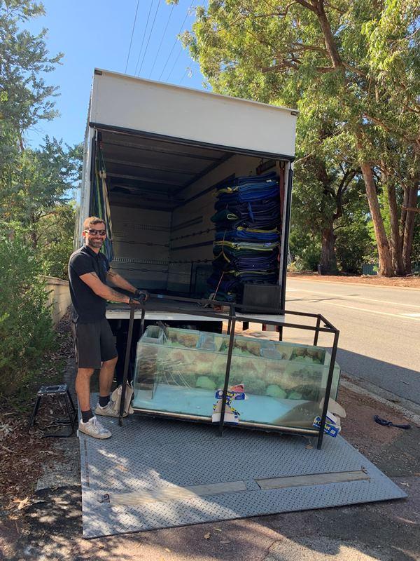 Aquarium removalists Perth
